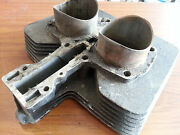 Rare Vintage Ducati Motorcycle Central Center 500cc Twin Motor Part