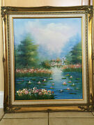 Oil On Canvas Paintings Signed Balfour And L. Marcus Send Message To Make Offer
