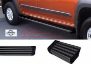 1980-96 Ford F-series Truck/f150/250/350 Ext Cab Black Coated Running Boards