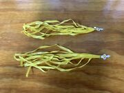 Bicycle Streamers Yellow Fit Many Bikes Schwinn Sears Huffy And Others