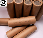 1 Old Sealed Buffalo Nickel Roll // Stamped Bank Of America // 40 Coins
