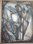 Exhibition Quality Oil Painting O/c By Evgenii Brukman Signed And Dated 1975
