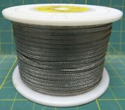 650 Foot Roll Flat 304 Stainless Steel .025x.180 Braided Universal Ground Wire