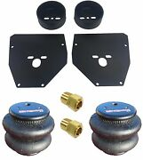 Airmaxxx 3/8 Front Air Ride Suspension Brackets And 2600 Bags For 63-72 Chevy C10