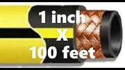 Gates 500mp Air Drill Hose 1 X 100ft. 500 Psi - Yellow - Msha Flame Resistant