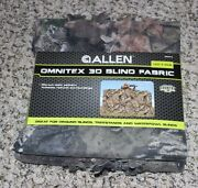 New Allen Omnitex 3d Blind Fabric Mossy Oak Breakup Country Camouflage 12and039 X 56