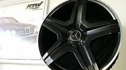 Set Of 4 - New 20 Amg Replica Wheels With Used Tires For Ml