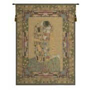 The Kiss European Tapestry Wall Hanging
