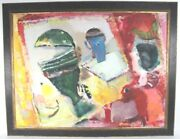 Jenny Franklin B.1949 Oil On Canvas Signed And Dated 1986 Crane Kalman Gallery
