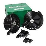 New Greenlee 555 Pvc Coated Shoe Group 1/2-2 Current Ensley Conduit Pipe Bender