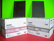 3m Scotch Brite Scuff Pad Combo 7447 And 7448 20 Count Boxes Maroon And Grey Pads