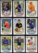 2014 Bowman Draft Picks And Top Prospects Paper Or Chrome You Pick Finish Your Set