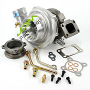 Ball Bearing Gt35r Gtx3582r Ar.70/.63 Turbo Water Cold T3 Flange+accessories