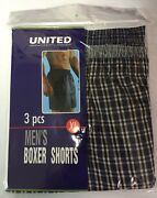 Boxer Shorts United Underwear Comfortable Menand039s 5 Colors Best Seller Sizes S-5xl