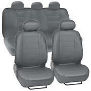 Prosyn Gray Leather Auto Seat Cover For Chevrolet Cruze Full Set Car Cover