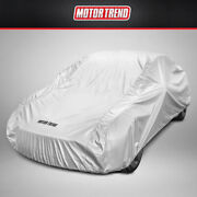 Motor Trend All Season Complete Waterproof Car Cover Fits Up To 157 W/ Lock