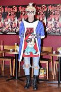 Moschino Couture Jeremy Scott Looney Tunes Sylvester Hooded Dress Kim Jonghyun