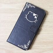 Hello Kitty Wallet Leather Flip Handmade Stand Case Cover For Apple Iphone