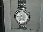 Guess Collection Gc Men Diamond Stainless Steel Chronograph Link Bracelet Watch