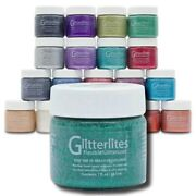 Glitter Craft Paint - Angelus - Top Quality - Crafts Boots Shoes Bags And More