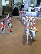 Lead Hand-painted Imported British Soldier Figurines.andnbsp Date Form The 1950and039s