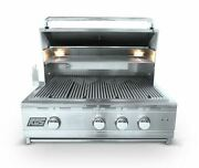 Rcs Pro Series Stainless Steel 30 Cutlass Grill With Blue Led -propane