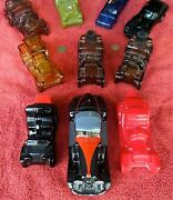 Ten Avon After Shave Decanter Cars, Including Packard, Jaguar And 1932 Auburn