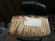 1000 Manila Tags With Strings 6 1/4 X 3 1/8 - 8 Size
