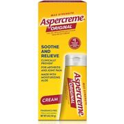 6 Pack Aspercreme Pain Relieving Creme Max Strength Odor Free Therapy 5 Oz Each