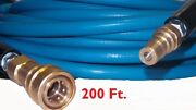 200' High Pressure Blue Solution Hose 1/4 Carpet Cleaning Machine Cleaner New