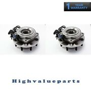 2 Ha590440 Front Wheel Bearing And Hub Assembly For Ford F450 Super Duty 2011-2016