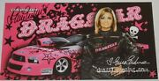2009 Erica Enders Signed Dragstar 2nd Version Ford Mustang Ps Nhra Postcard