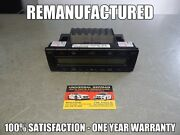 W140 1998 1999 S500 S420 Ac Heater Climate Control - Remanufactured - 2108300485