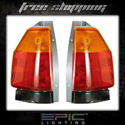 Fits 02-07 Gmc Envoy Tail Light/lamp Pair Left And Right Set