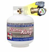 New 20 Lb Pound Propane Tank Cylinder With Opd Valve And Built-in Site Gauge