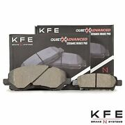 Front And Rear Ceramic Disc Brake Pad For Compass Patriot Caliber Lancer 866-1037