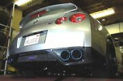 Hks Racing Catback Exhaust System Catless Pipe For 2009-2017 Nissan Gt-r R35