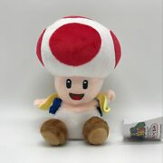 New Super Mario Bros. Wii Plush Red Toad Soft Toy Stuffed Animal Teddy Doll 7