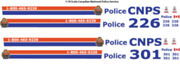 118 Decals Cnps Canadian National Railway Police Motormax Ford Crown Victoria
