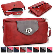 Womens Fashion Smart-phone Wallet Case Cover And Evening Purse Ei64-16