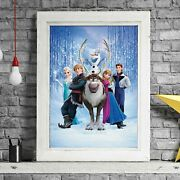 Frozen - Disney Pixar Poster Picture Print Sizes A5 To A0 Free Delivery