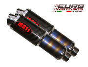 Massmoto Exhaust Dual Silencers M1 Carbon New Ducati Supersport Ss 900 1991-1997