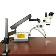 7-45x Stereo Trinocular Microscope+articulating Arm Stand+150w Cold Y Type Light