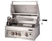 28 Infrared Natural Gas 3 Burner Grill With Lights
