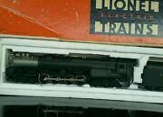 1995 Lionel Locomotive, Cart, And Red Caboose