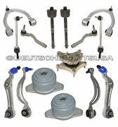 Mercedes W221 W216 4matic Control Arm Arms Ball Joint Mounts Suspension Kit 15