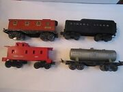 Lionel Trains 1682 And 1680 And 6167 And Coal Tender And 1015 Transformer And Track