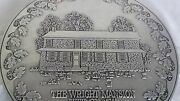 Wilton Pewter Trivet Limited Edition Wright Mansion Columbia Pa Zercher 40/300