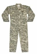 Rothco Air Force Style Flight Suit Cotton Coveralls Flightsuit Acu Digital Camo