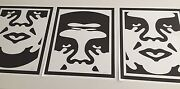 Shepard Fairey, 3 Faces Of Andre Series Set Of 3 Prints, Signed